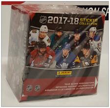 2017-18 Panini Hockey Sticker Box