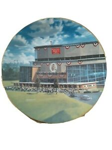 COUNTY STADIUM HOME OF 1957 CHAMPIONS TAKE ME OUT TO BALL GAME COLLECTOR PLATE