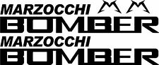 MTB Marzocchi Bomber Fork Decals/Stickers (Gloss Black)
