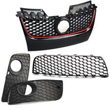 Front Bumper Center Lower Grille Fog Light Grill Fits For Vw Golf Jetta MK5
