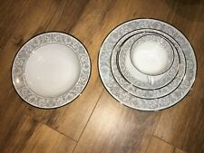 Lot of 2 Sets of Rosenthal Leonardo Dinner/Salad/Bread/Fruit Plates Cup/Saucer