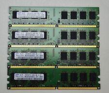 8 GB 4x2GB DDR2 PC2-6400 6400U DDR2-800 MHZ MEMORY DIMM PC DESKTOP RAM 240 PIN