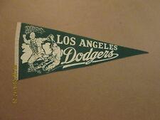 MLB Los Angeles Dodgers Vintage 1960's Green Pennant #3