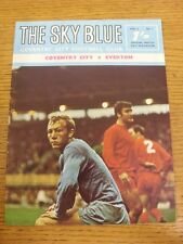 21/09/1968 Coventry City v Everton  . Thanks for viewing this item, buy with con