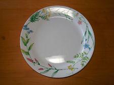 """Corelle MY GARDEN Set of 11 Dinner Plates 10 1/4"""" Rimmed Flowers Leaves"""