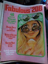 FABULOUS 208 18/7/1970 MUNGO JERRY RICHARD BARNES GEORGE BEST QUO CREEDANCE