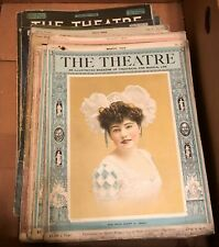 1904 - 1908 The Theatre Magazine Lot of 21 Issues