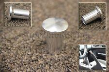 RDT Silver Aluminum Drift Spin Turn E-BRAKE KNOB SILVIA 240SX 180SX S14 S13
