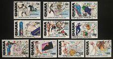 Ghana 1992, Olympic Games, Barcelona &  Albertville,SG 1684-1693, Used / CTO