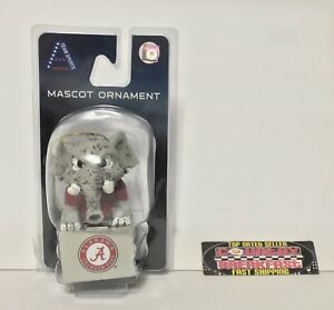 "Alabama Crimson Tide Big Al Mascot Elephant Ornament 3 1/2"" Tall - Brand New!"