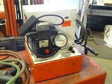 Otc Hydraulic Power Pack Quiet Pump Series Pq20 10000psi Pq203s