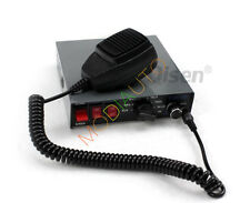 NEW PA Horn Siren System Mic Kit Police Car Fire Truck 100W 12V