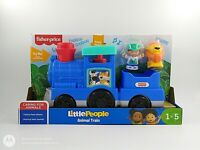 FISHER-PRICE LITTLE PEOPLE ANIMAL TRAIN - PUSH ALONG SOUNDS, AGES 1-5 *UK STOCK*