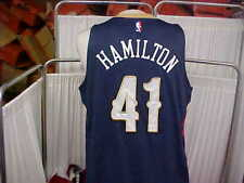 NBA 2014-2015 New Orleans Pelicans #41 Hamilton Game Worn Jersey Size XL+2