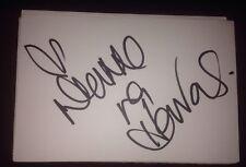 LIANNE LA HAVAS SIGNED 6X4 WHITE CARD TV & MUSIC AUTOGRAPH SOUL FOLK