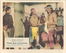 Taza Fils De Cochise Original Lobby Carte Rock Hudson Barechested Gregg Palmer