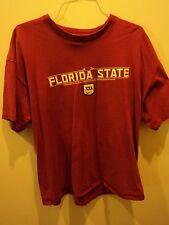 Nike Florida State University FSU Football T-Shirt 3D 2XL Logo SEMINOLES!!!