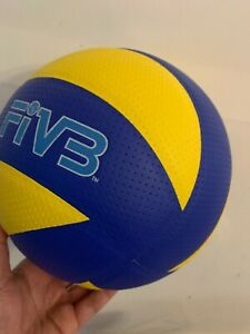 MIKASA MVA200R Volleyball in Blue and Yellow USA Seller
