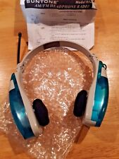 Suntone AM/FM Radio Headphones - Blue - RR409 Popeyes