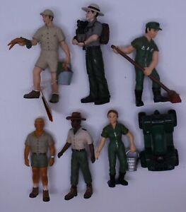 Acme 100-12-19 Zoo Worker/ Ranger Assortment Figures (Set of 6)