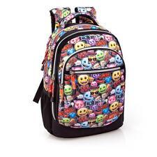 Mochila viaje emoji laptop de primera calidad trabajo escolar 3 Bolsa Zip así que lo que