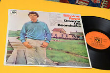 BILLY ROYAL LP DOWN IN THE BOONDOCKS ORIG '60 EX LAMINATED COVER