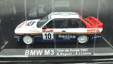 MODELLINI AUTO BMW M3 1:43 RALLY RALLYE CAR MODEL MINIATURE DIECAST IXO RACING