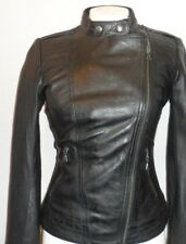 Women's Guess Leather Jacket Classic