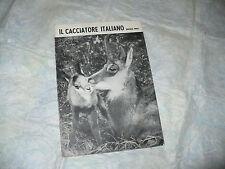 RIVISTA CACCIA IL CACCIATORE ITALIANO NUMERO SPECIALE NATALE 1963 INDICE ANNATA