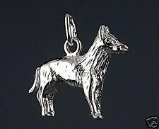 Pendentif Chien BERGER BELGE MALINOIS - Pendant BELGIAN MALINOIS DOG