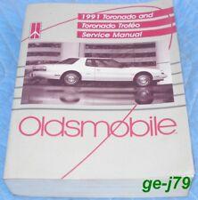 1991 Oldsmobile Toronado Trofeo Genuine GM Service Manual Super Clean 600 Pages