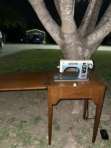 Antique Morse Sewing Machine Table