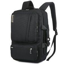 Travel Laptop Backpack 17 Inch Computer Notebook Bag School Pocket Case Handle