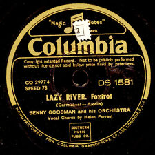 BENNY GOODMAN & HIS ORCHESTRA Lazy river / Oh! Look  at me now    78rpm    X2711