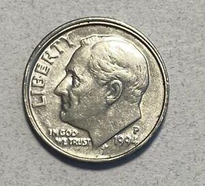 1994-P Roosevelt 10C Dime *ERROR*