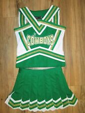 Boutique Girls COWBOYS Cheerleader Uniform Child Size 6/8 Sparkle Cheer Outfit
