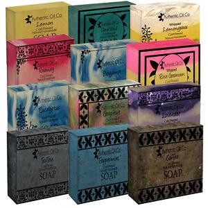 Natural Handmade Soap Bar Vegan Traditional Essential Oil Paraben Cruelty Free