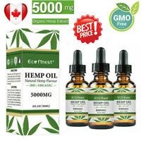 5000mg Hemp Oil For Pain Relief Anxiety Sleep Anti Inflammatory Extract