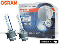 D2S Osram Cool Blue Boost HID Xenon Bulbs 66240CBB Up to 7000K Germany Pack of 2