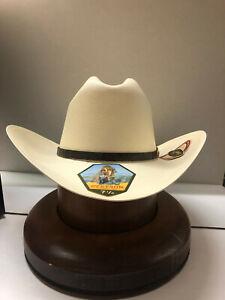 """Stetson 1000X Evilla de Oro Straw Hat 4"""" Brim Profile 48"""