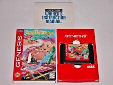 Desert Demolition Road Runner + Original Box for Sega Genesis *TESTED & CLEANED*
