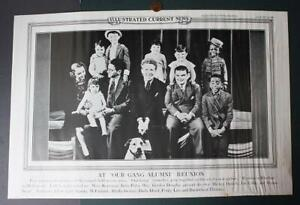 1937 New Haven Connecticut Our Gang / Little Rascals newsreel poster-Spanky too!