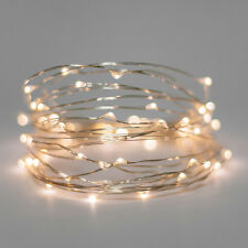5 Set 20 Warm White LED Bulb Fairy Light Battery Wedding Table Centrepiece 2mtr