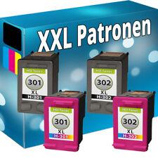 TINTE PATRONEN für HP 301 XL 302 XL DeskJet 1000 1110 2130 Envy 4500 4520 4521