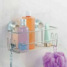 New InterDesign Turn-N-Lock Suction Hold Shower Storage Basket