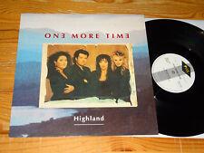 ONE MORE TIME - HIGHLAND (5:22 MIN) / EU 12'' VINYL-MAXI-LP 1992 MINT-