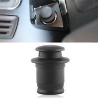 Black Car Plug Cigarette Lighter Socket Dust Cap Cover Waterproof Accessories