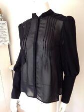 Ted Baker Black Shirt Size 14 BNWT