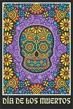 DIA DE LOS MUERTOS - CHARLIE HARDWICK ART POSTER - 24x36 DAY OF THE DEAD 754