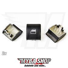 2x Ventana Elevador Reparación botón interruptor para BMW Serie 3 E46